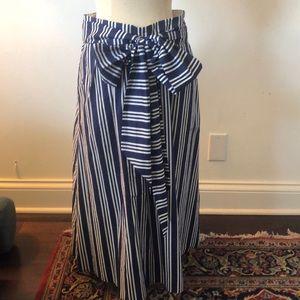 Boden Midi skirt removable sash 2p